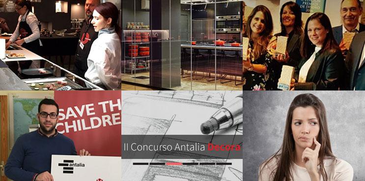 Los hitos de Antalia Cocinas en el 2017