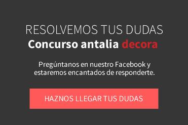 Participa en la II Edición del Concurso Antalia Decora