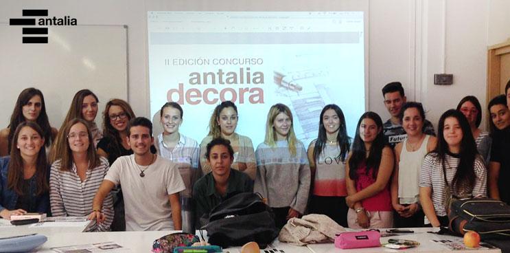 El concurso Antalia Decora se va a la Universidad