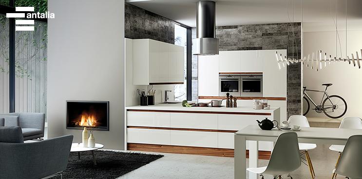 Ideas para integrar la cocina con el sal n - Unir cocina y salon ...