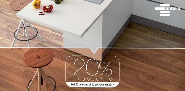 ¡Un 20% de descuento en los muebles de cocina de antalia!