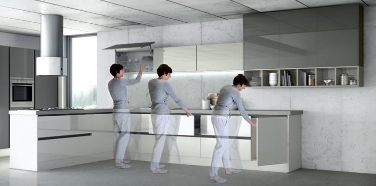Cómo lograr que tu cocina sea la más cómoda del mundo: el poder de la ergonomía