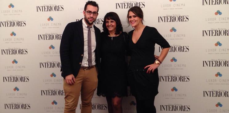 Disfrutando del glamour de la I Edición de los Premios Interiores