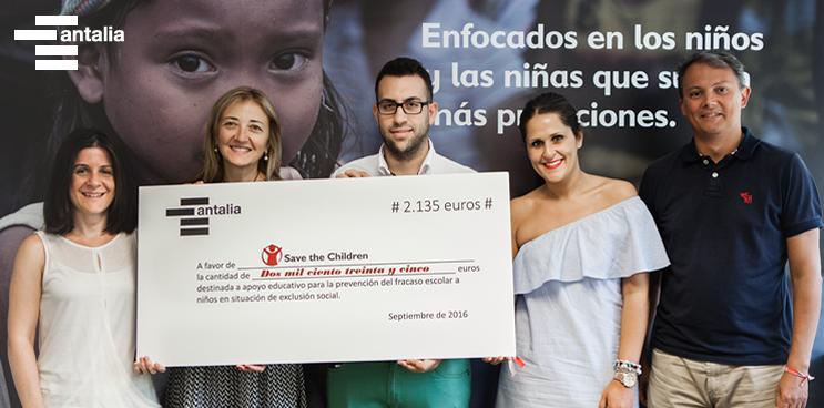 ¡Felices! Entregamos el 5% de nuestras ventas a Save the Children