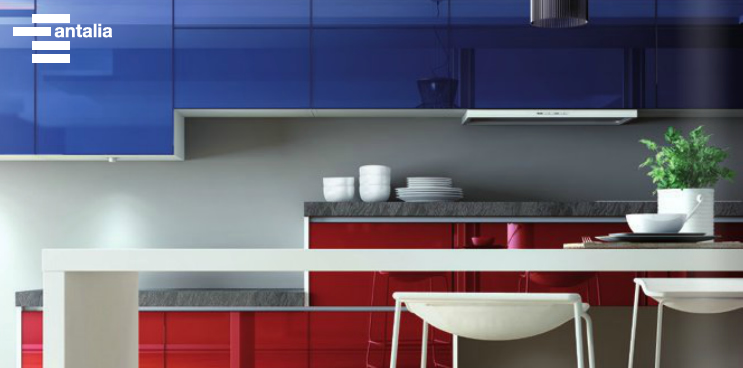 El atractivo de la barra americana en una cocina