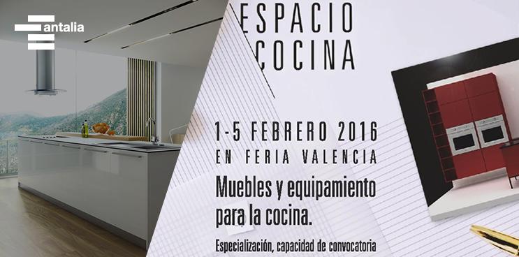¡antalia se va a la Feria de Valencia Espacio Cocina!