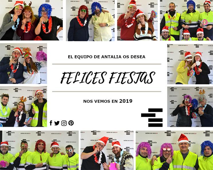 Felicitación de Navidad de Antalia