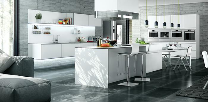 "Antalia adaptada a la tendencia ""Living Kitchen"""