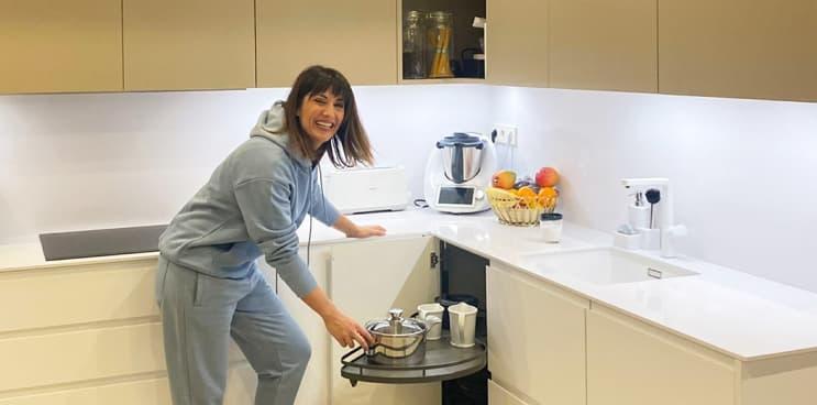 La nueva cocina de Nagore Robles… ¡es de Antalia!