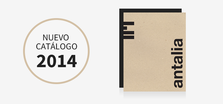 Nuevo catálogo Antalia
