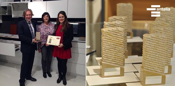 Antalia gana el Premio Mejor Web de Cocinas y Baños