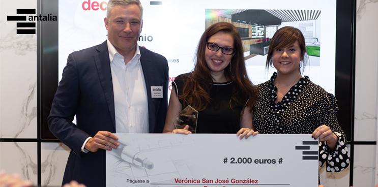 Verónica San José gana la II edición de Antalia Decora