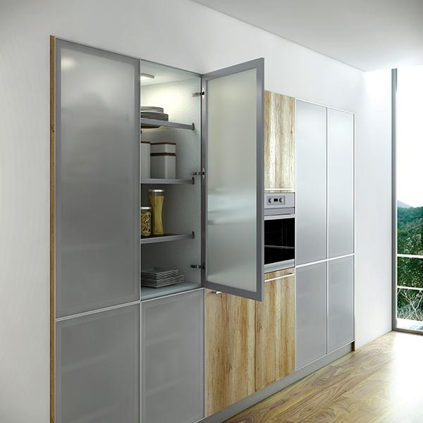 Proyecto 8 cocinas eficientes funcionales y con ingenio de antalia - Antalia cocinas ...