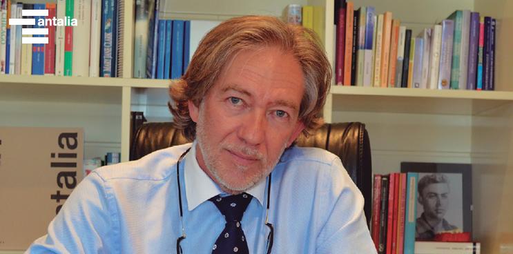 Salvador, presidente de AMC, en Cocina Integral