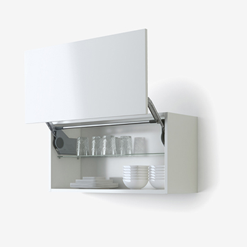 Blum upward opening system for HL vertical doors
